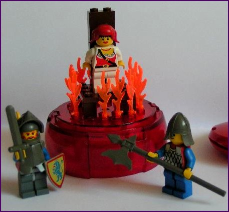 Burning Witch Playset