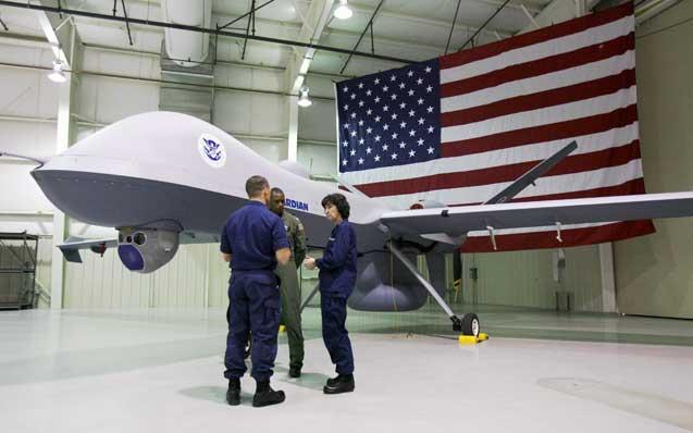 Drone-w-Flag