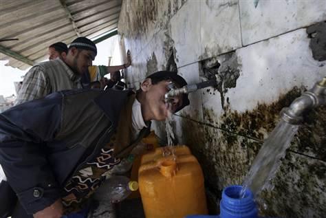 Gaza-water