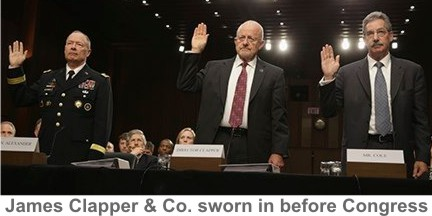 Clapper-sworn-in