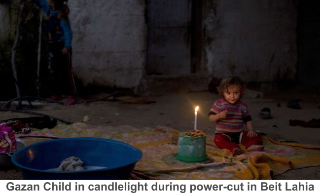 Gaza-Child-candlelight