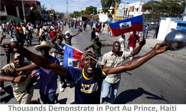 Haiti-anti-government-protest