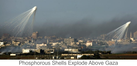 Phosphorus-over-Gaza