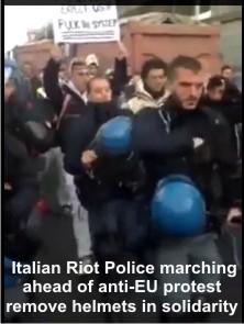 Italian-RiotCops-RemoveHelmets