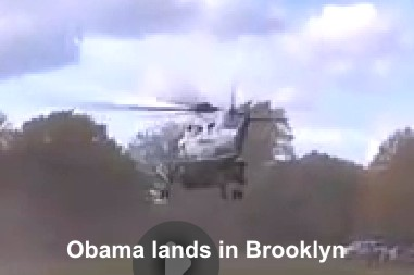 Obama-Lands-Brooklyn