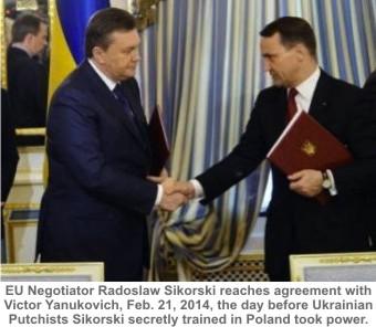 Yanukovich&Sikorski