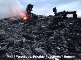MH17-Wreckage
