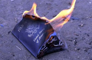 Passport-in-flames