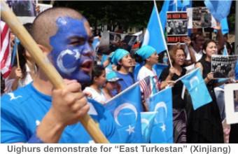 Uighurs_Demonstrate
