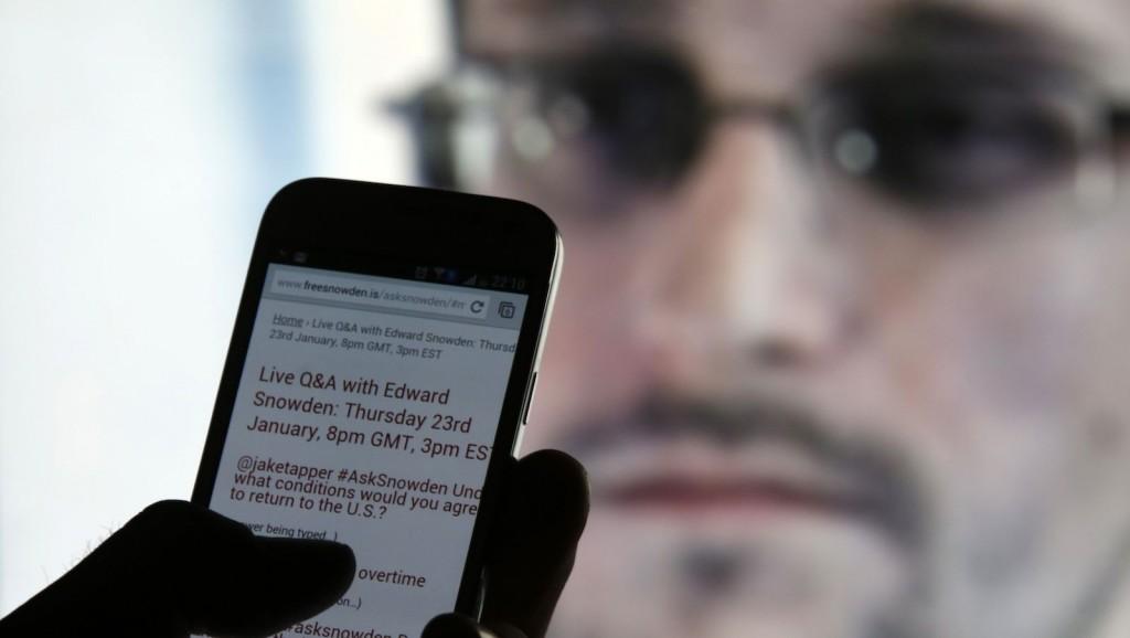 Snowden-SmartPhone