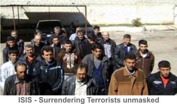 ISIS-Surrendering