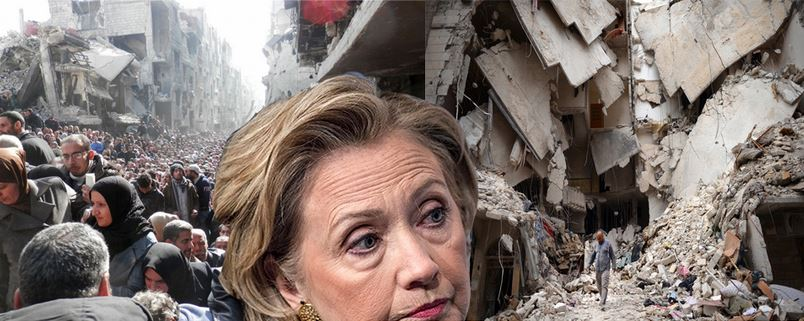 Hillary-n- The Syrian Shoah