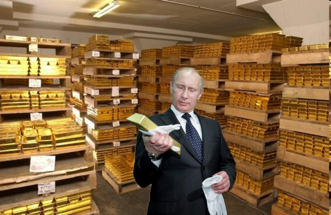 Putin_in_Gold_Vault