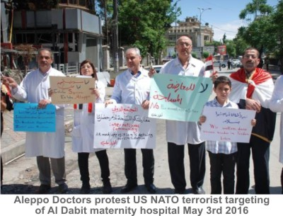 Aleppo_Doctors_Protest